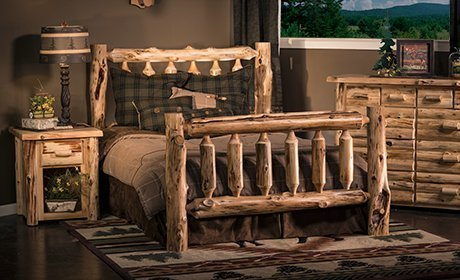 Rustic Log Furniture For Cabin Lodge Decor Quality Inside Outside Your Home At Place