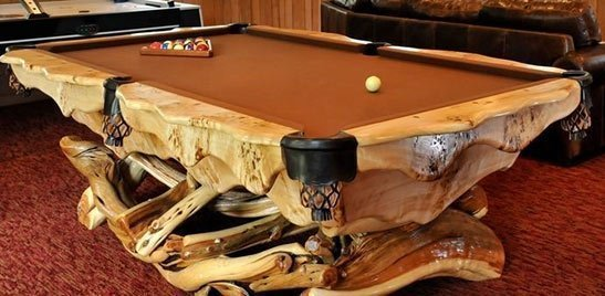 Magnificent Rustic Game Room Furniture Log Billiard Tables And Barnwood Download Free Architecture Designs Licukmadebymaigaardcom