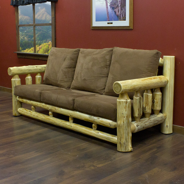 Cedar Lake Cabin Log Sofa