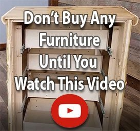 Real Log Furniture Video